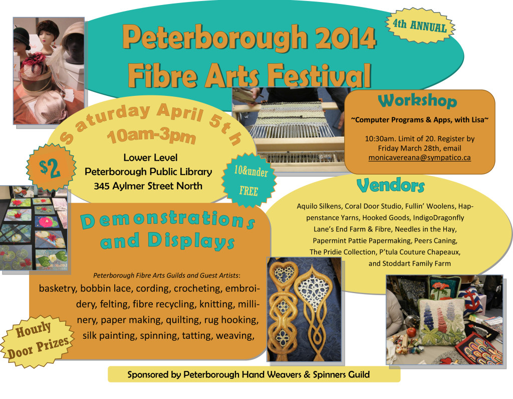 Peterborough 2014 Fibre Arts Festival
